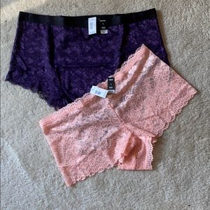 NEW torrid lace cheeky and high waist panties 1X